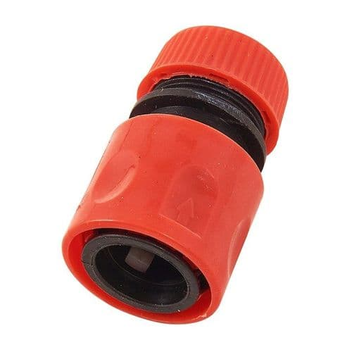 1/2'' Hose Connector With Shut Off